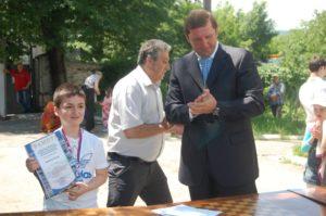 Айрапетян Тигран - чемпион Кисловодска до 12 лет