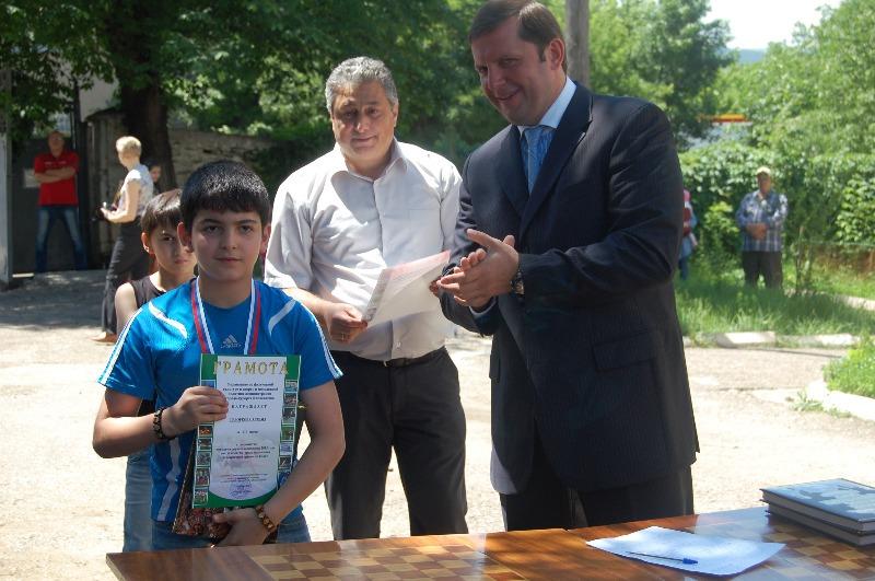 Геворков Артем - бронзовый призер Первенства Кисловодска до 14 лет
