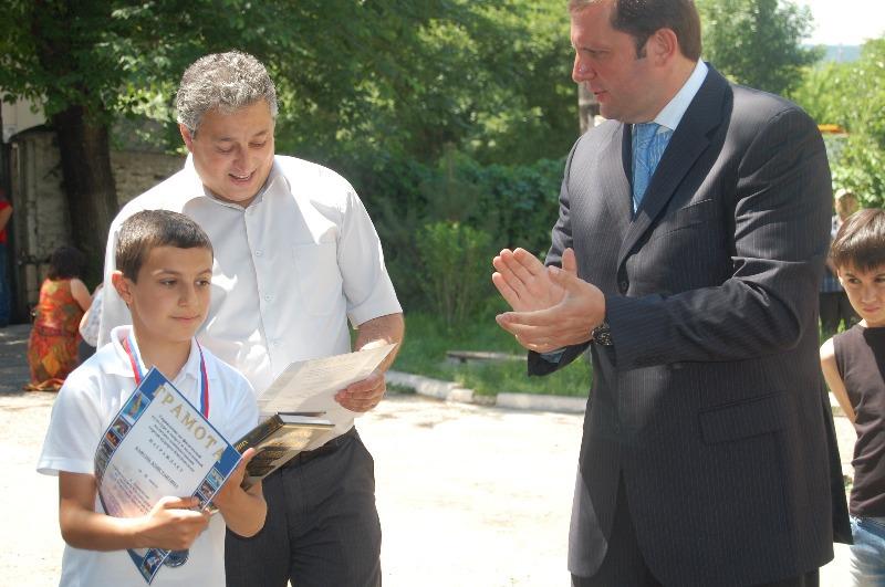 Кафунц Костя - серебряный призер до 12 лет