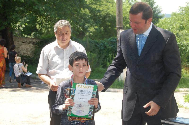 Таранов Артем - бронзовый призер Кисловодска до 12 лет